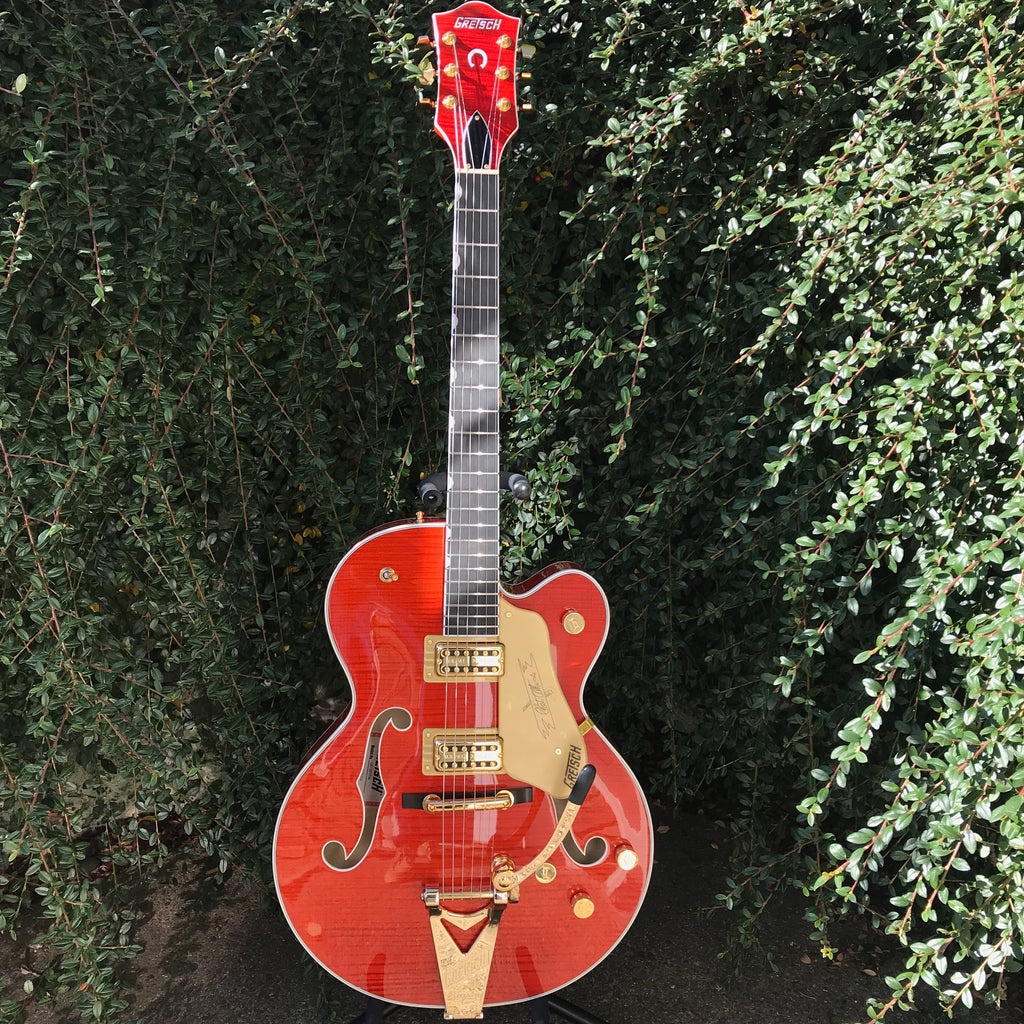 Gretsch Players Edition Nashville® Hollow Body with String-Thru Bigsby® Flame Maple - G6120TFM