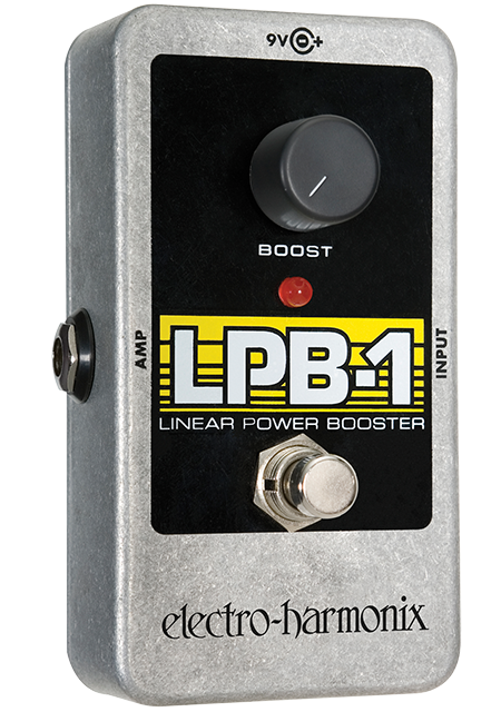 Buy Electro-Harmonix LPB-1 Power Booster Guitar Effects Pedal Online