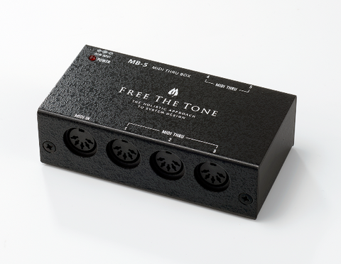 Free The Tone MB-5 MIDI THRU BOX