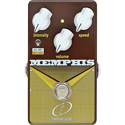 Crazy Tube Circuits Memphis Vibrato
