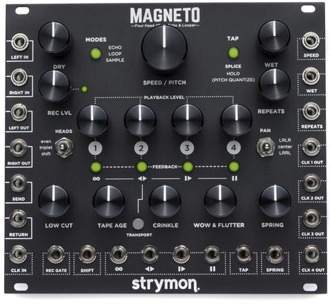 Strymon Magneto - Four Head dTape Echo & Looper