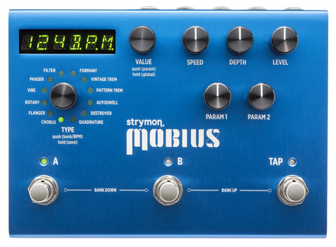 Buy Strymon Mobious Multidimensional Modulation Pedal Online