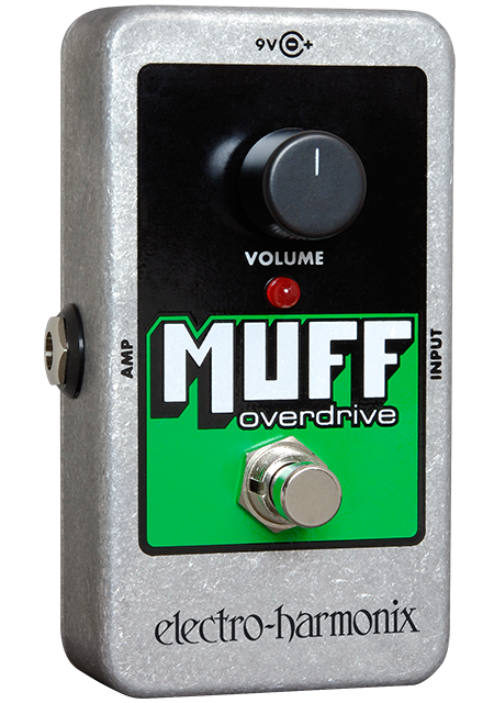 Buy Electro-Harmonix Muff Overdrive Guitar Effects Pedal Online