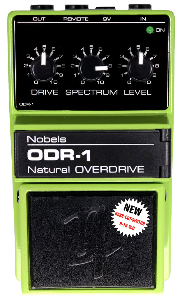 Nobels ODR-1 with Bass Cut Switch