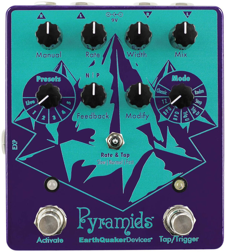 Buy EarthQuaker Devices Pyramids Stereo Flanging Online
