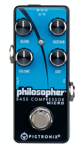 Buy Pigtronix Philosopher Bass Compressor Micro Online