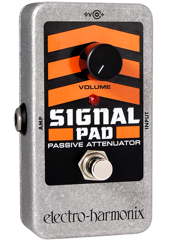 Buy Electro-Harmonix Signal Pad Attenuator Guitar Effects Pedal Online