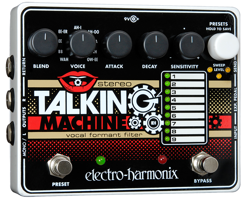 Buy Electro-Harmonix Stereo Talking Machine Online