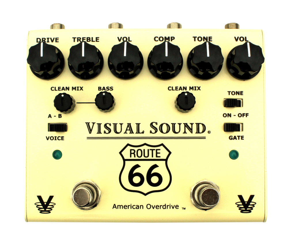 Buy Visual Sound Route 66 Overdrive/Compression Online