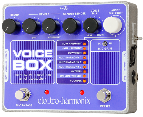 Buy Electro-Harmonix Voice Box Harmony Machine and Vocoder Online