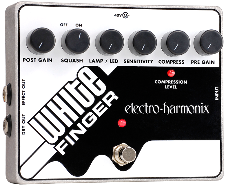 Buy Electro-Harmonix White Finger XO Analog Optical Compressor Online