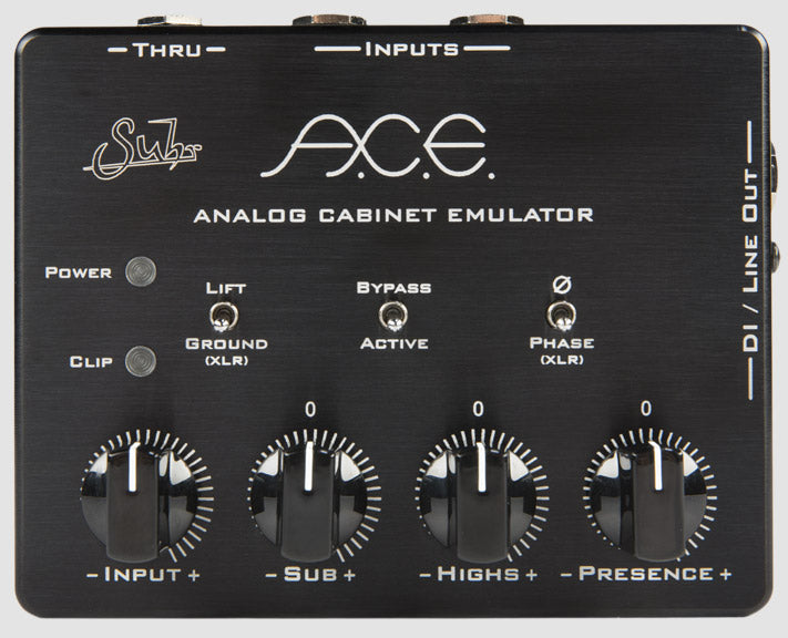Suhr A C E Analog Cabinet Simulator Pedal Rogue Guitar Shop