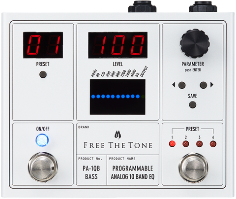 Buy Free The Tone PA-1QB EQ for Bass Online