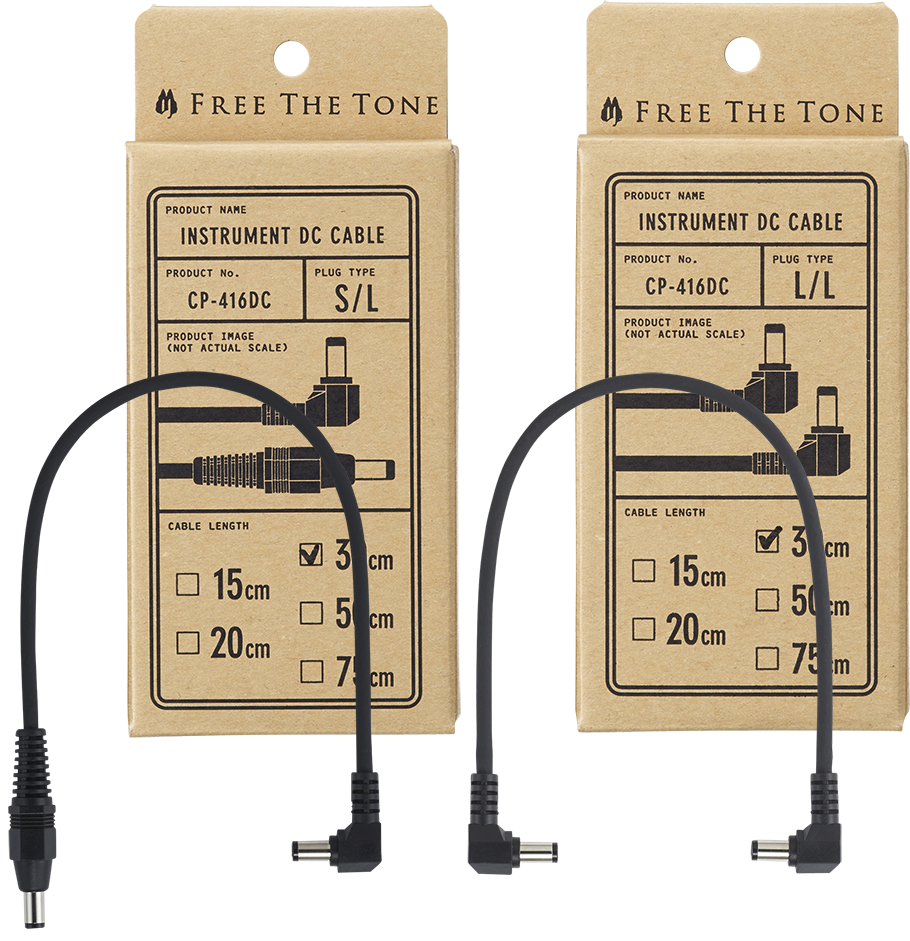 Free The Tone - CP-416DC - Instrument DC Cable