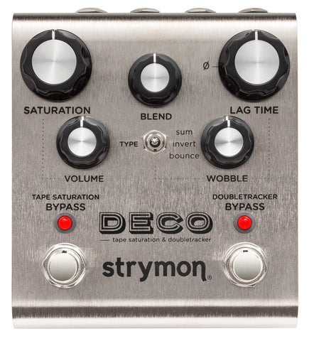Buy Strymon Deco - Tape Saturation & Doubletracker Online