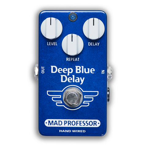 Mad Professor DEEP BLUE DELAY Hanwired