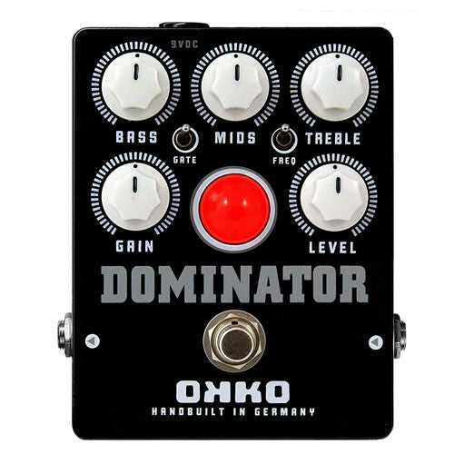 Buy OKKO Pedals Black Dominator Distortion Online