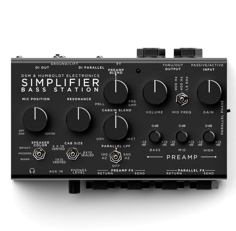 DSM & Humbolt Simplifier Bass Station