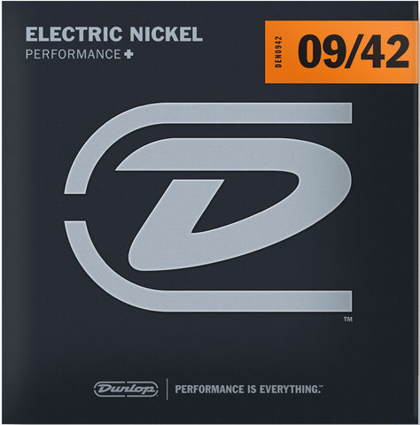 Dunlop PERFORMANCE+ ELECTRIC GUITAR STRINGS 9-42