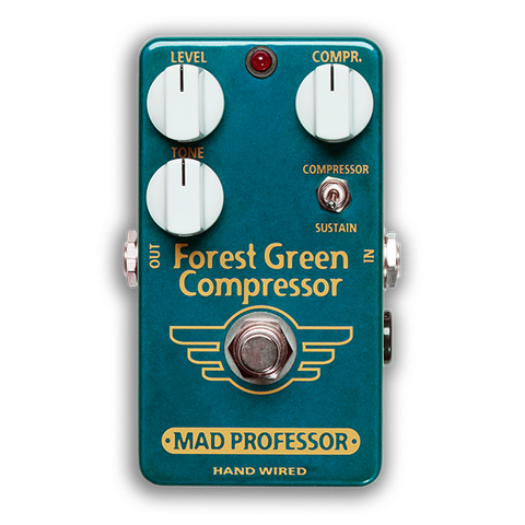 Mad Professor Forest Green Compressor Hand Wired BJF