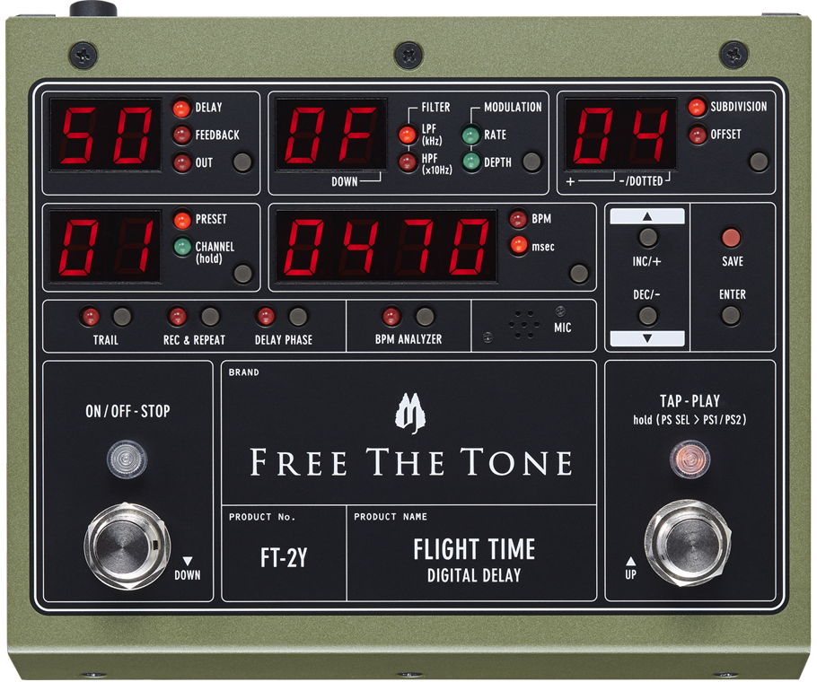 Buy Free The Tone Flight Time 2 FT-2Y Online