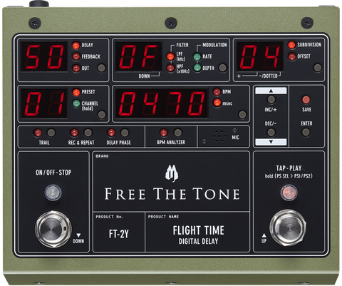Free The Tone Flight Time 2 FT-2Y