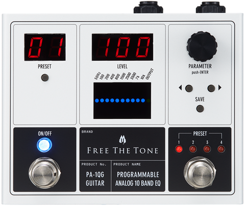 Buy Free the Tone PA-1QG Programable EQ for Guitar Online