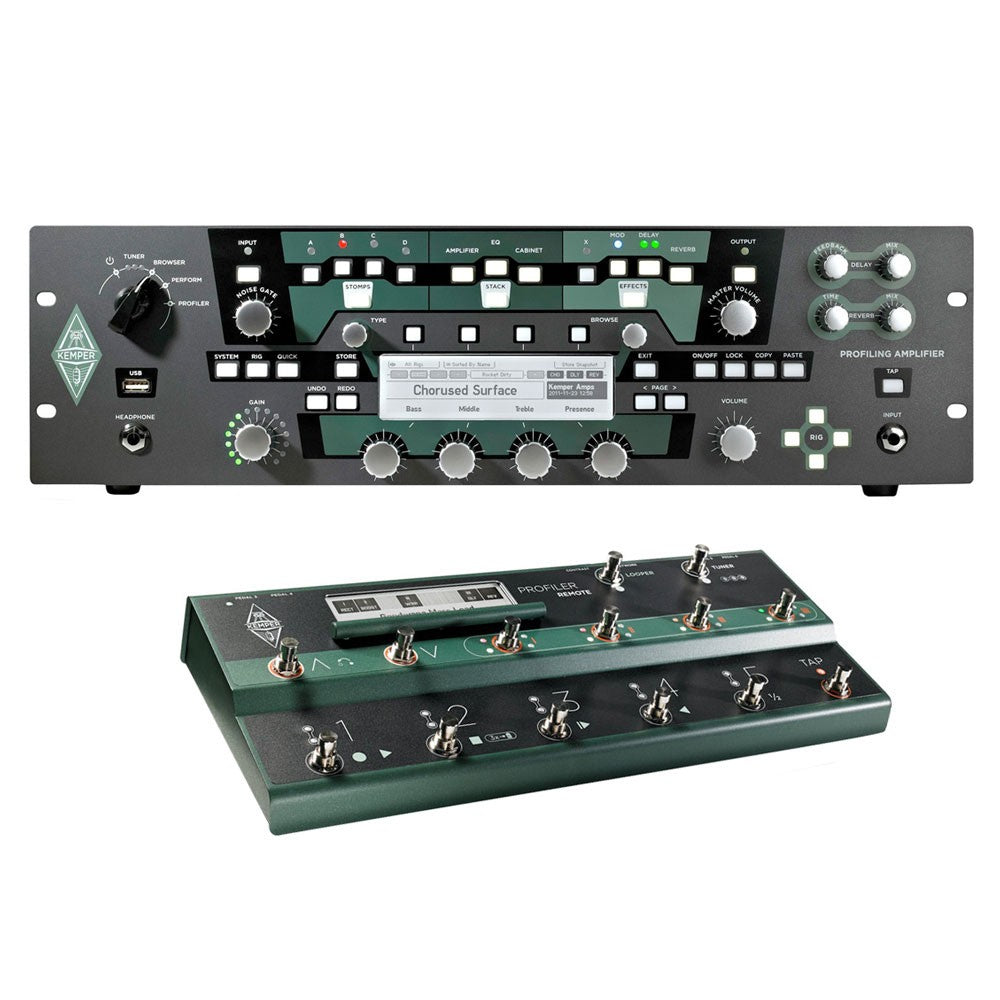 Buy Kemper Profiler Rack + Profiler Remote Online