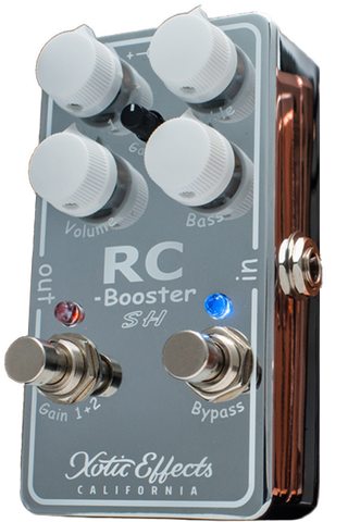 Buy Xotic Effects RC Booster Scott Henderson Chrome Limited Edition Online