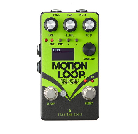 Free The Tone MOTION LOOP ML-1L PITCH SHIFTABLE SHORT LOOPER