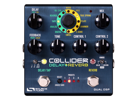 Source Audio SA263 Collider Stereo Delay+Reverb