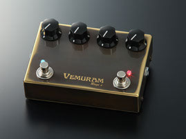 Vemuram Rage e - Overdrive Distortion Pedal with boost