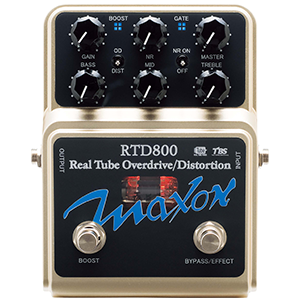 Maxon REAL TUBE OVERDRIVE-DISTORTION (RTD800)
