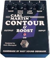 Carl Martin Contour and Boost Effects