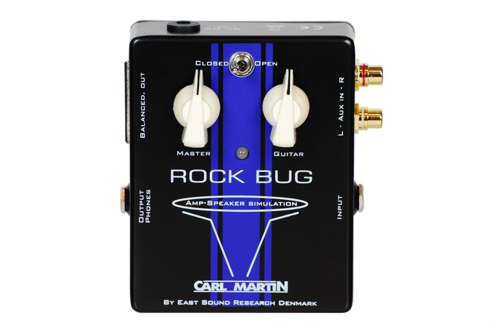 Carl Martin Pro-Series Rock Bug Amp/Speaker Simulator