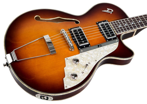 Duesenberg Starplayer TV Hollow Vintage Burst