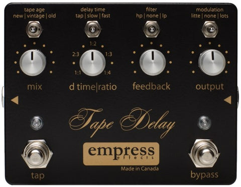 Buy Empress Effects Tape Delay Online