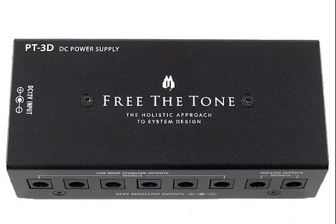 Buy Free The Tone PT-3D DC Power Supply Online