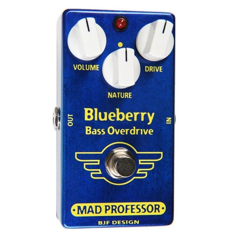 Buy Mad Professor Blue Berry Bass Overdrive Pedal BJF PCB Online