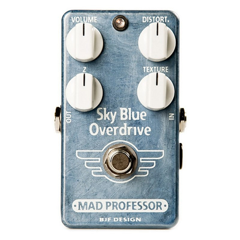 Buy Mad Professor Sky Blue Overdrive Hand Wired BJF Online