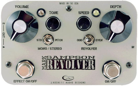 Rockett Pedals Mark Sampson Revolver