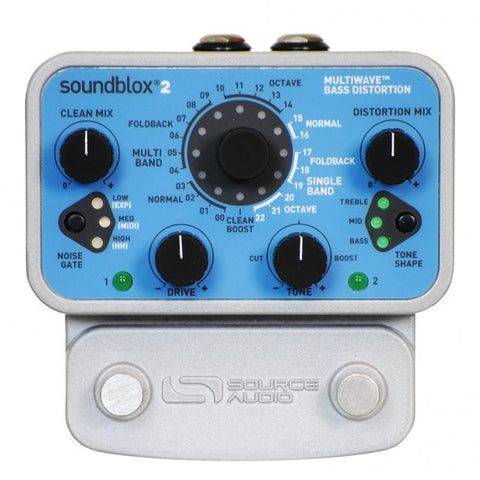 Buy Source Audio Soundblox 2 Multiwave Bass Distortion Online