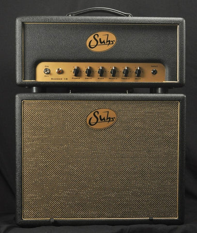 Suhr Badger 30 Black Guitar Amp & Cab