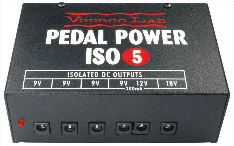 Buy Voodoo Labs Pedal Power ISO 5 Power Supply Online