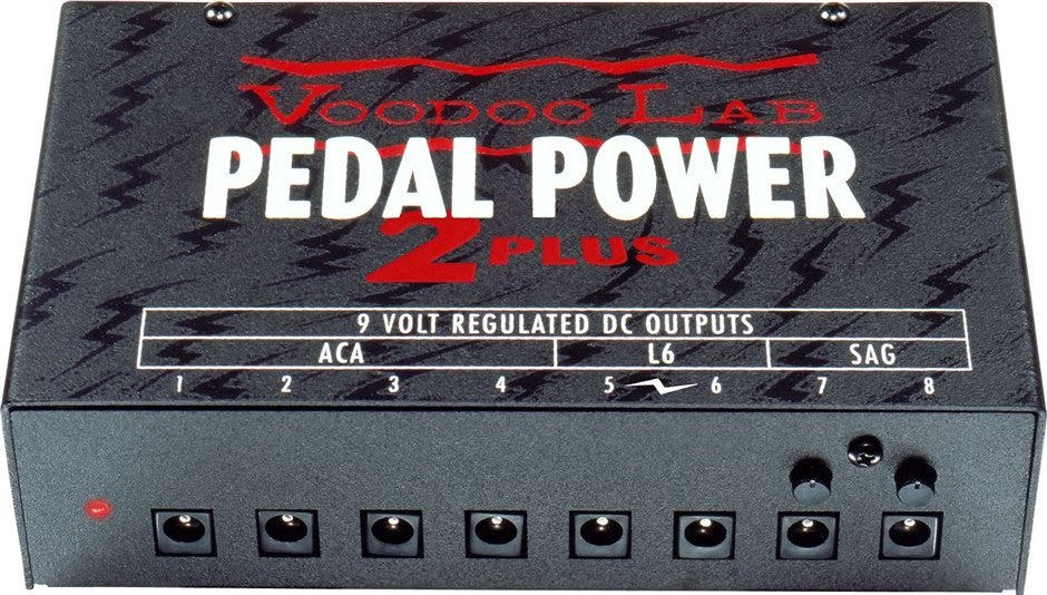 Buy Voodoo Labs Pedal Power 2 Plus Power Supply Online