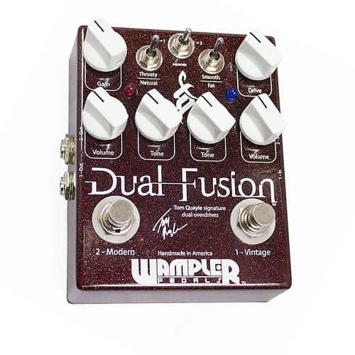 Buy Wampler Pedals Dual Fusion Overdrive Online