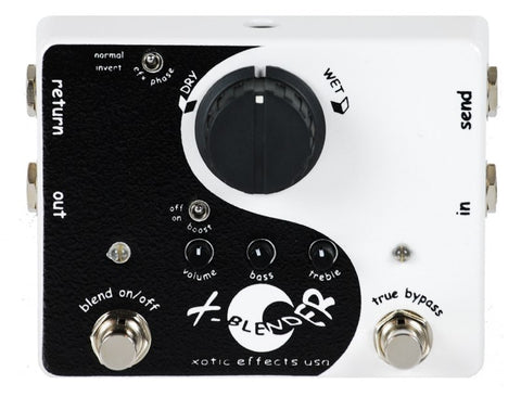 Buy Xotic X-Blender True Bypass Effects Loop Pedal Online