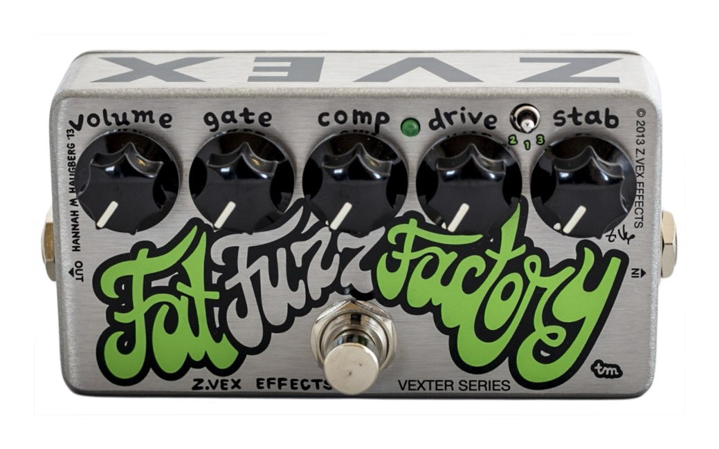 ZVEX Effects Vexter Fat Fuzz Factory FREE 2 DAY SHIP