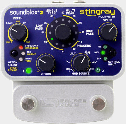 Source Audio Soundblox 2 Stringray Multi-Filter