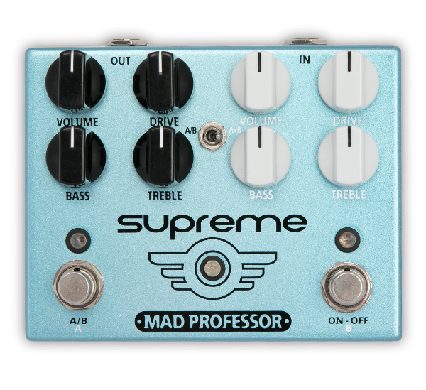 Mad Professor Supreme Dual Channel Overdrive Pedal